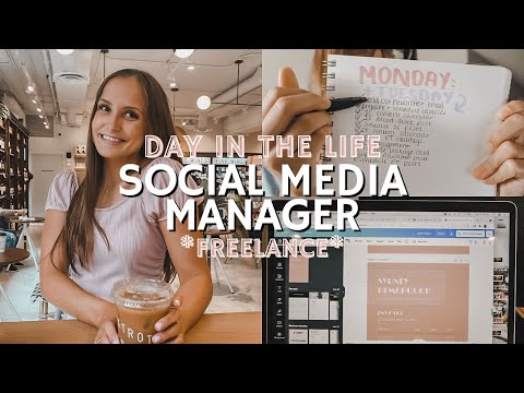 DAY IN THE LIFE OF A FREELANCE SOCIAL MEDIA MANAGER
