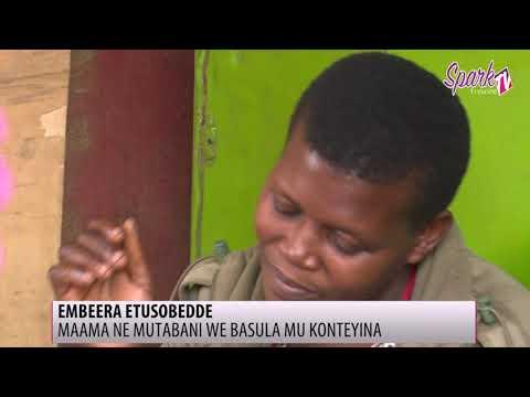 Wuuno omwana eyagwa mu kinnya nga abaserikale bwebali bamugoba ne nnyinna