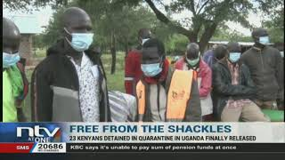 23 Kenyans allegedly quarantined under harsh conditions for 21 days