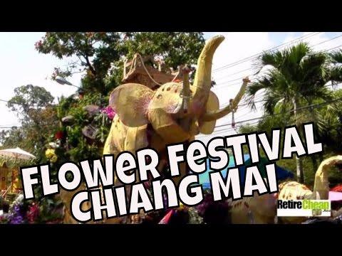 泰國清邁花季 Chiang Mai Flower Festival
