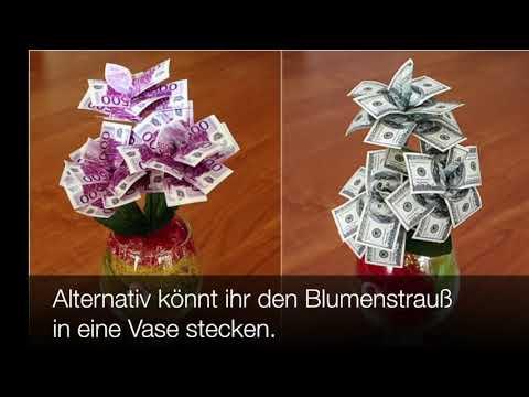 So könnt ihr Geldgeschenke zur Hochzeit originell verpacken!