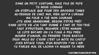 Lacrim   Freestyle 1 Juin ( R.I.P.R.O ) Paroles  Lyrics