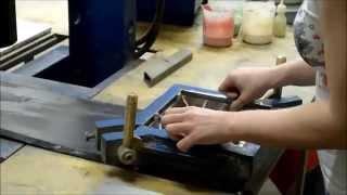 Узорная цементная плитка Luxemix ручной работы. Изготовление.