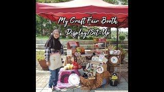 My Craft Booth Setup