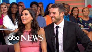 'Bachelorette' Becca and Garrett on their engagement