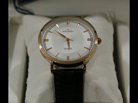 Видео обзор женских ювелирных часов Valeri I3820 G