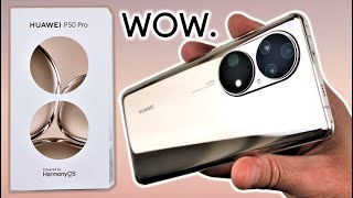 Huawei P50 Pro UNBOXING and Initial REVIEW - Legend Reborn?