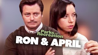Best of Ron & April - Parks and Recreation | Comedy Bites