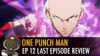 """Watch ONE PUNCH MAN Review Episode 12 """"The Strongest Hero"""" Reaction"""