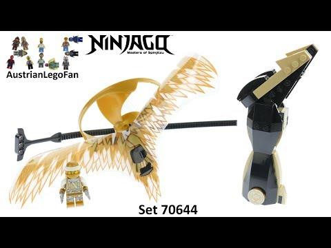 Vidéo LEGO Ninjago 70644 : Le maître du dragon d'or