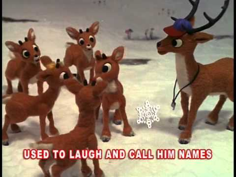 The latest rumor coming out of the north pole is that rudolph the red