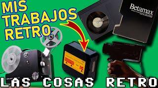 Mis trabajos retro – Grabación en BETA BETAMAX, SUPER 8 y VHS C – Cortometrajes y videoclips retro