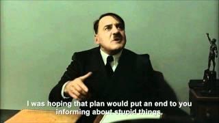 Hitler is informed Hitler has been found