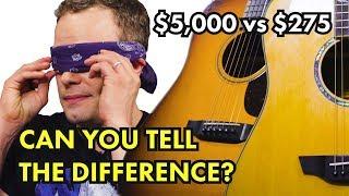 $275 vs $5000 Acoustic Guitar