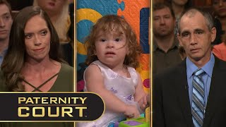 Davis v. Simpson: After forgiving his ex-wife for cheating on him eleven times, a divorced man doubts the paternity of her two-year-old daughter.  Subscribe: https://bit.ly/PaternityCourtYT   Follow Paternity Court on Social Media: Facebook: https://www.facebook.com/PaternityCourt/ Twitter: https://twitter.com/PaternityCourt Instagram: @PaternityCourtTV  Follow MGM Television on Social Media: Facebook: https://www.facebook.com/MGMTelevision Twitter: https://twitter.com/MGMTelevision  Instagram: @MGM_Television  Man Accuses Woman of Cheating 11 Times In Their Relationship (Full Episode) | Paternity Court https://youtu.be/c9sT-kr_49c  #PaternityCourt #LaurenLake  Season 6, Episode 10