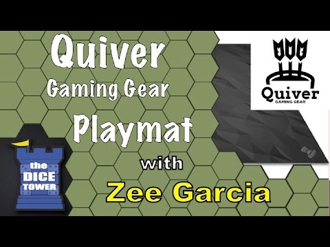 Quiver Gaming Mat Review - with Zee Garcia