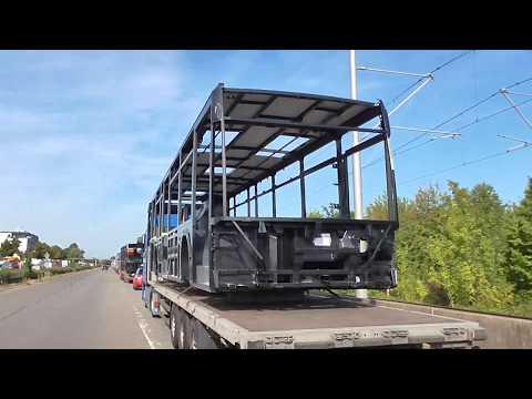 Mercedes Benz Citaro C2 Estructura autoportante en camion gondola