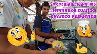Julito cocinaba para sus hermanos desde pequeño😱 Ya es muy tarde Monica. Capitulo 5