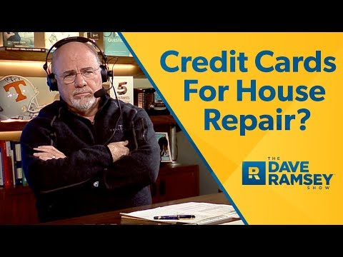 Use Credit Cards For House Repair?