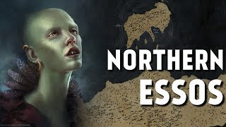 Northern Essos - Map Detailed (Game of Thrones)