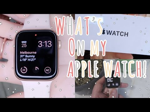 WHAT'S ON MY APPLE WATCH! + customise & apps you NEED to get!
