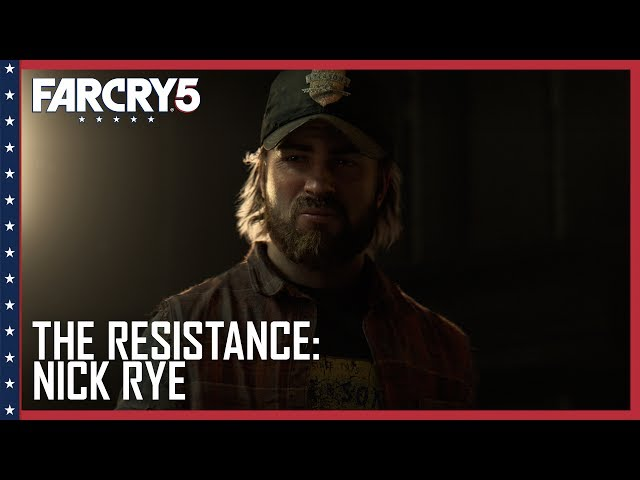 Far Cry 5: Official The Resistance: Nick Rye Trailer