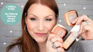 Testing New L'Oreal Paris No Makeup Makeup Collection / Review & Demo