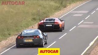 [Autocar] Corvette ZR1 vs Lambo SV
