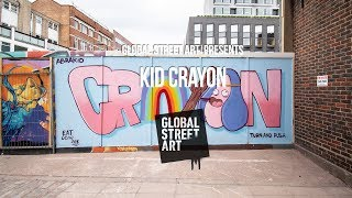 Global Street Art Walls Project: Kid Crayon