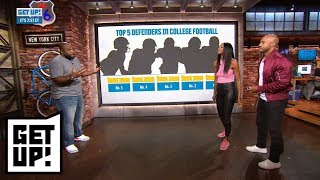 Marcus Spears' top 5 defensive players in college football | Get Up! | ESPN