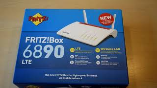 FRITZ!Box 6890LTE | Der 350€ ROUTER im UNBOXING! | Deutsch/German