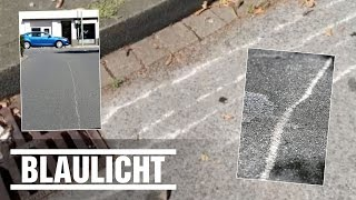 Kratzer auf Straße überführen den Täter - Dumme Fahrerflucht