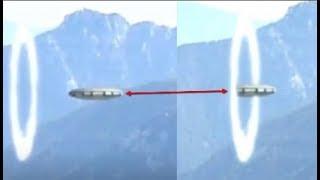 Vô tình quay cảnh đĩa bay đi qua cổng thời gian, hơn 1triệu người xem đứn hình: người ngoài hành tin