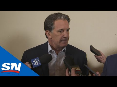 Brendan Shanahan Speaks To Media After Maple Leafs Fire Mike Babcock