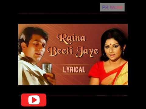 Raina Biti Jayein - Lata Mangeshkar