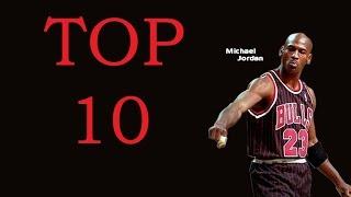 Top 10 Michael Jordan Curiosidades