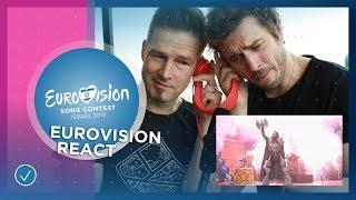 REACT TO EUROVISION: Mahmood, John Lundvik, Michael Rice And Darude Feat. Sebastian Rejman