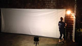 Back Lit Projection Screen