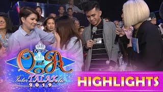 Amy Perez comes to rescue as she helps Vice Ganda make amends between a former couple on It's Showtime.  Subscribe to ABS-CBN Entertainment channel! - http://bit.ly/ABS-CBNEntertainment  Watch the full episodes of It's Showtime on TFC.TV   http://bit.ly/ItsShowtime-TFCTV and on IWANT.TV for Philippine viewers, click:  http://bit.ly/SHOWTIME-IWANTv  Visit our official website!  http://entertainment.abs-cbn.com/tv/shows/itsshowtime/main http://www.push.com.ph  Facebook: http://www.facebook.com/ABSCBNnetwork  Twitter:  https://twitter.com/ABSCBN https://twitter.com/abscbndotcom Instagram: http://instagram.com/abscbnonline  #ItsShowtime  #Showtime4everKasama #MissQ&A