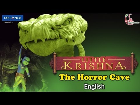 Little Krishna English - Episode 3 The Horror Cave