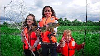 Рыбалка дети на щуки весной ловля