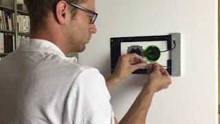smart things sDock Fix iPad Wandhalterung Installation