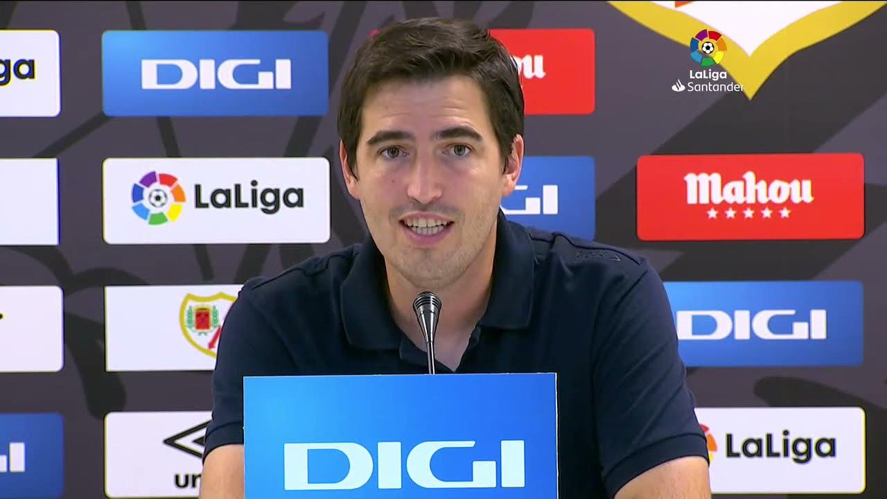 Rueda de prensa Rayo Vallecano vs Getafe CF
