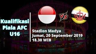 VIDEO: Live Streaming Kualifikasi Piala AFC U16 Indonesia Vs Brunei Jumat (20/9) Pukul 18.30 WIB