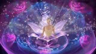 Сахасрара - коронная чакра . Медитация в потоке Рейки .