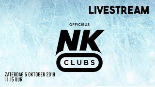 Livestream NK Clubs 5 oktober 2019