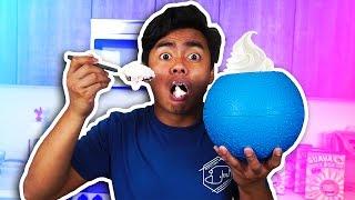 KICK THE BALL TO MAKE ICE CREAM!