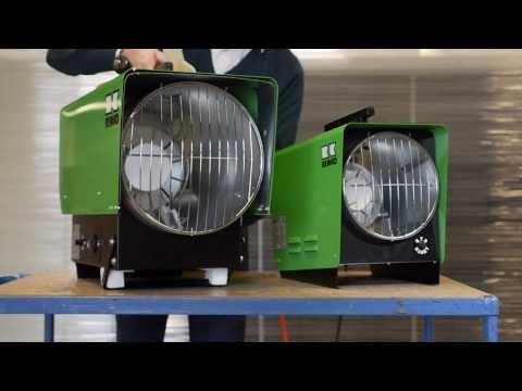 Remko PGT 30 und PGT 60 Gasheizer Propangas-Heizautomaten
