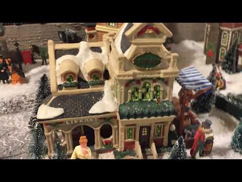 Christmas Village in Kitchener, ON