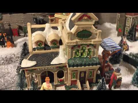 Christmas Village in Kitchener, ON